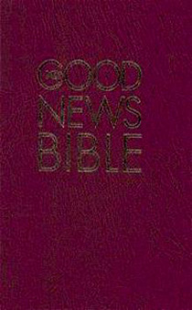 Библия на английском языке (Good News Bible), средний формат, 053